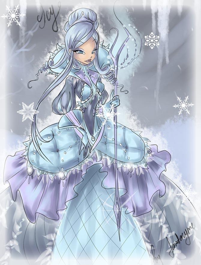 Снежная королева, трикс стали добрыми.