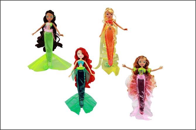 Куклы русалки винкс.