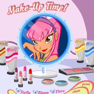 Винкс игры макияж