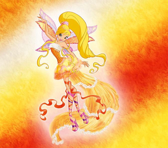 Стелла летит на крыльях гармоникса.